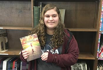 "Seventh-grader Noelle Conklin got her poem ""Alternate Reality"" published in a poetry collection."