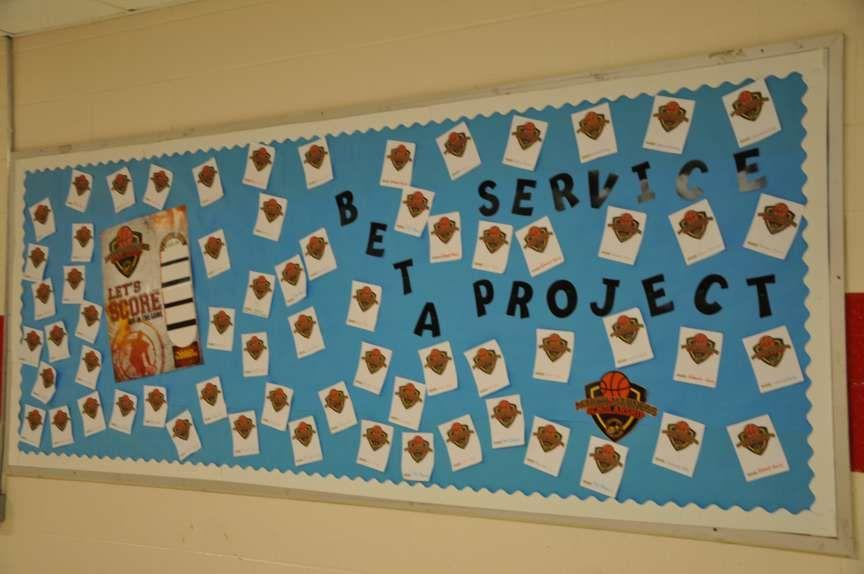 service project board for Beta