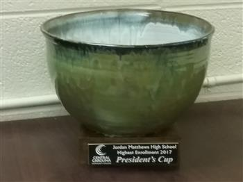 Pottery Bowl CCCC President's Cup