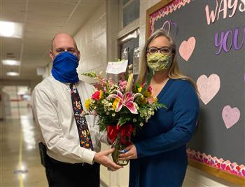 Congratulations! Jennifer Tyndall ~ 2021 Teacher of the Year