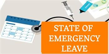 State of Emergency Leave Letter to Employees