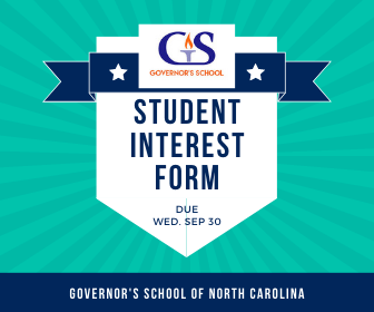 governor school student interest form graphic