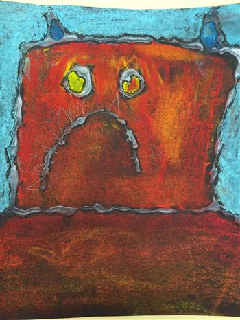 (Click to see more) Fauvism Monsters from Ms. Crooks' 3rd Grade Classes