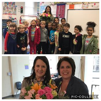 Congrats to Mrs. Brennan, NCE's Teacher of the Year!