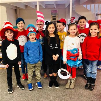 Read Across America with Dr. Seuss (click for photos)