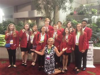 NHS FCCLA at Nationals