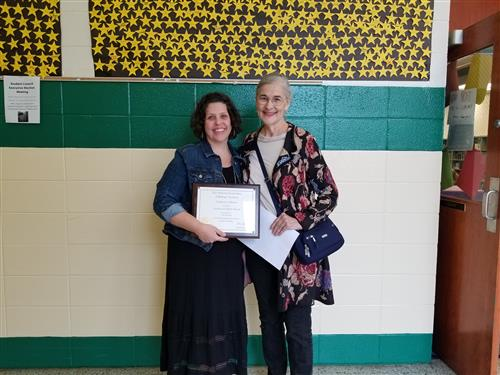 Biology Teacher of the Year -NC