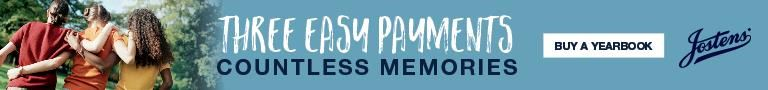 Three easy payments, countless memories. Buy a yearbook here.