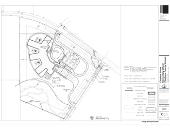 Chatham Grove Elementary School Site Plan