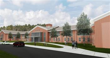 This is a rendering of Seaforth High School.