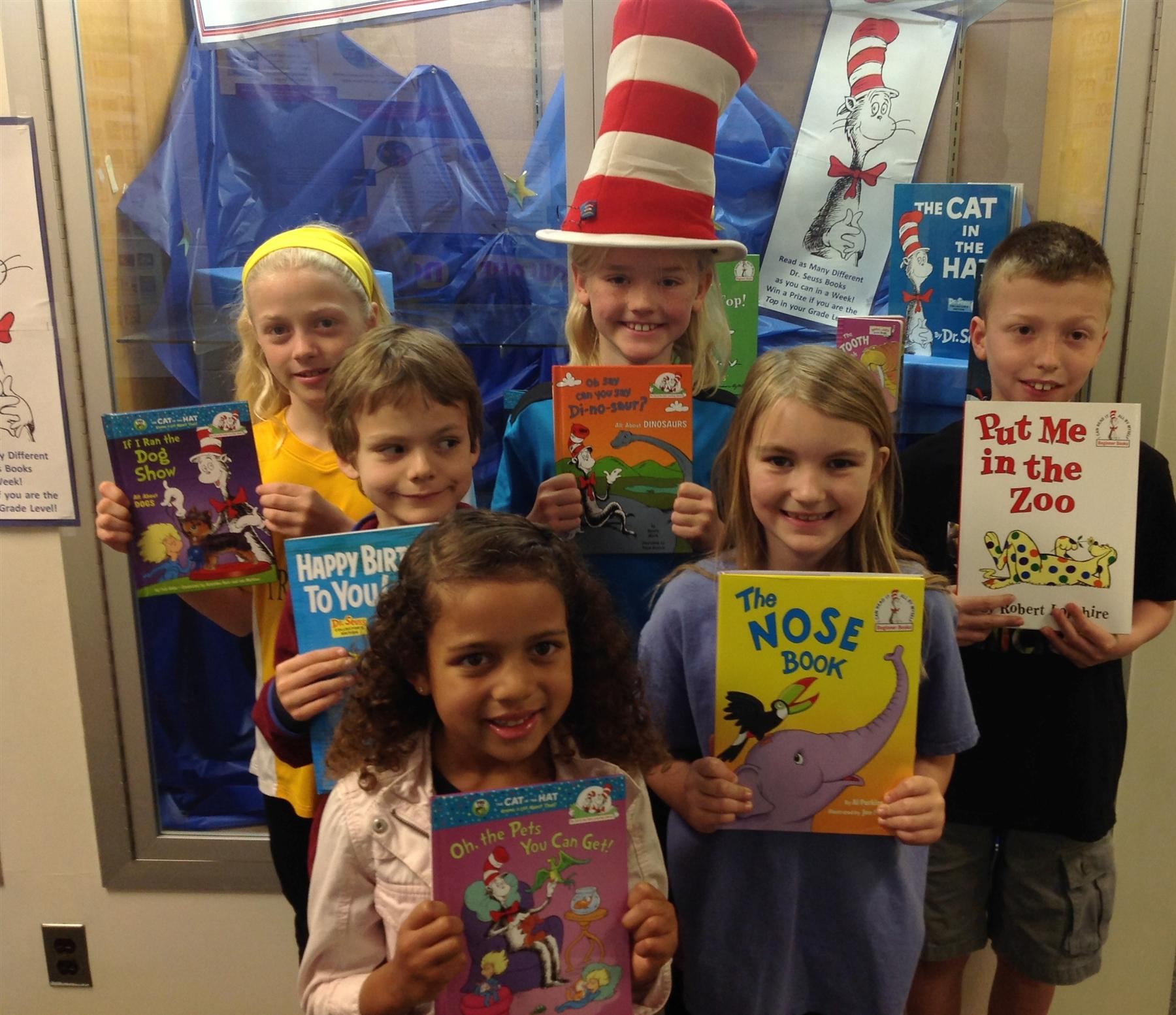 Dr. Seuss Reading Challenge Winners