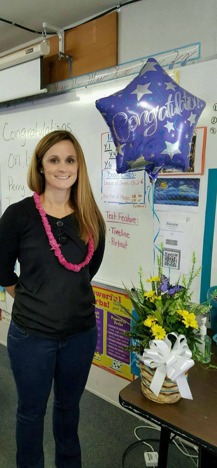 Congratulations to Ms. Erin Boecke, our Teacher of the Year!
