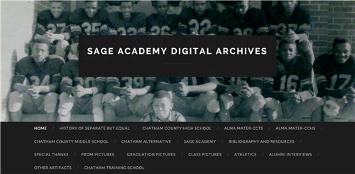 SAGE Academy Digital Archives