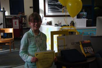 Silk Hope Students Compete in National Geographic GeoBee