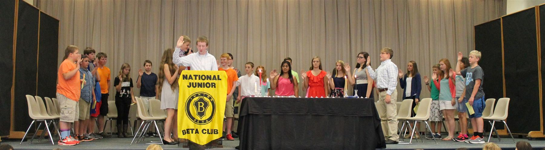 Silk Hope Jr. Beta Club