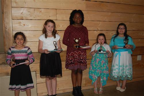 Picture of Young Author winners