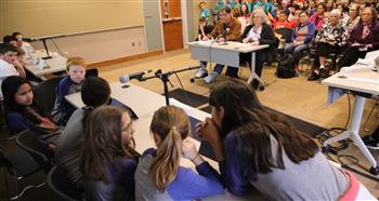 Plots thickened when the district' students tangled over titles in Battle of the Books