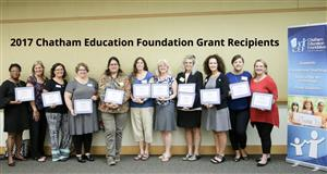 These are the 2017 CEF grant recipients.