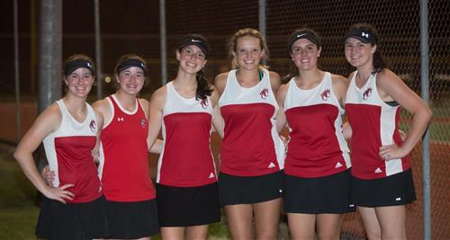 Young ladies from Bear Creek are in the hunt for singles and doubles titles.