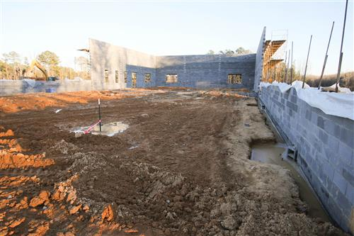 Chatham Grove Elementary School is on schedule to open during the fall of 2020.