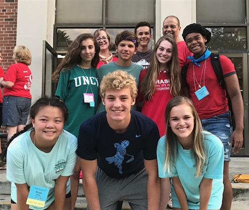 Northwood High School students attended the 60th North Carolina Association of Student Councils Summer Leadership Workshop.