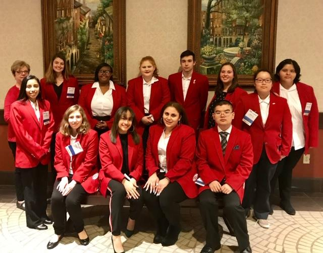 Northwood High School's FCCLA students secured earned seven gold and six silver medals at the state conference.