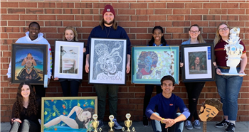 Northwood High School's visual artists are among the best in the state.
