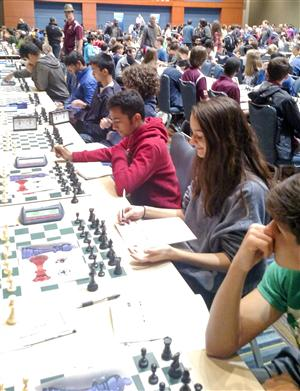 Northwood's chess team works toward Scholastic Cup.