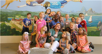 New Pittsboro Elementary principal a hit with Pandas