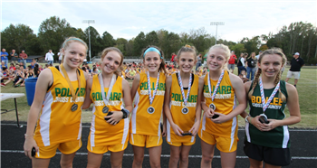 Runners blaze trail during middle school cross country championships