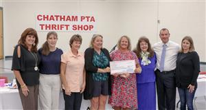 Partnership stronger between Chatham PTA Thrift, district