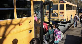 Students are 70 times more likely to arrive safely to their campuses when they are in school buses.