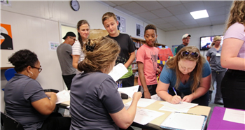 District's school year launches at Chatham Center for Innovation