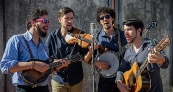 The April 19 extravaganza will feature Che Apalache, a four-man string band based in Buenos Aires.