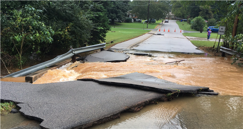 Flooded roads prompt district's Sept. 18 closings