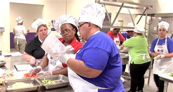 Chatham County Schools hosted the North Carolina K-12 Culinary Institute.