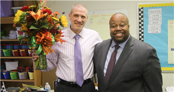 Siler City Elementary's Savage rises as district's top principal