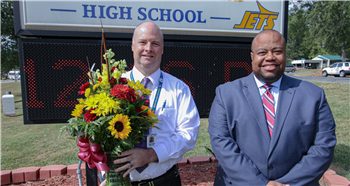 Jets land Chatham County Schools Principal of the Year