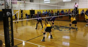 The district has added volleyball and cross-country to its sports offerings based on interest level.