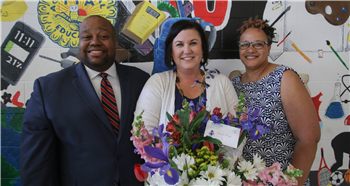 Chatham Central's Paige emerges as district's Teacher of the Year