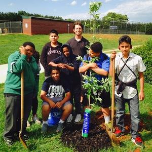 Earth Day Tree Planting photo