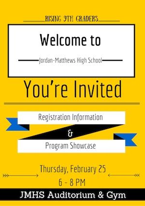 Rising 9th Grade Parent Night Invite