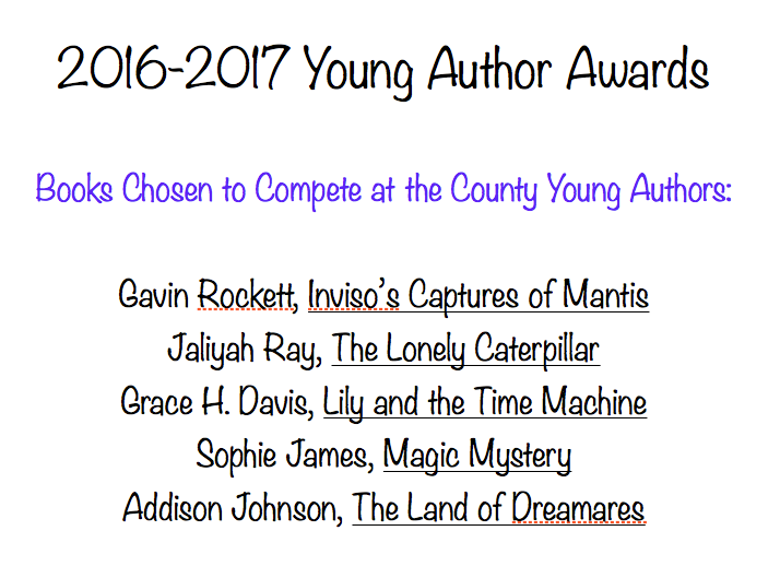 Young Authors Awards