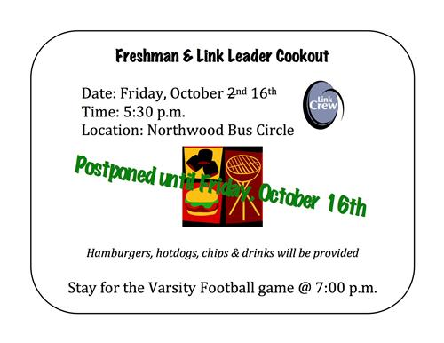 Link Crew Cookout