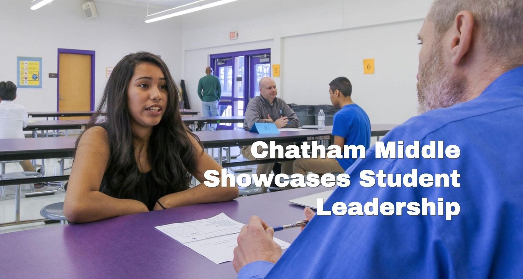 Real-world training for 'Future Leaders' at Chatham Middle