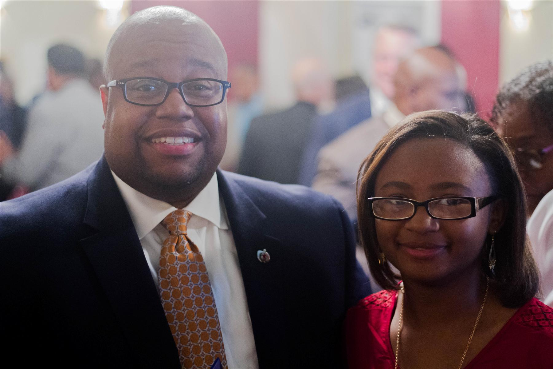 NAACP Recognizes Superintendent and Student
