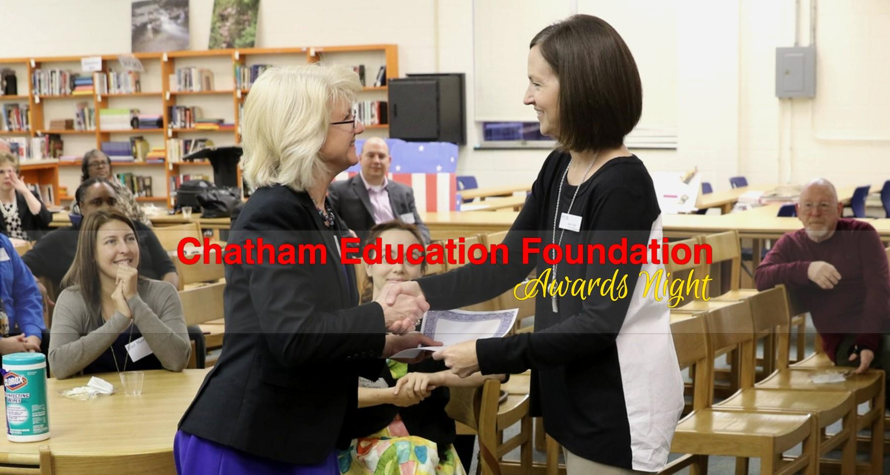 Chatham Teachers Earn $35,000 In Chatham Education Foundation Grants & Scholarships