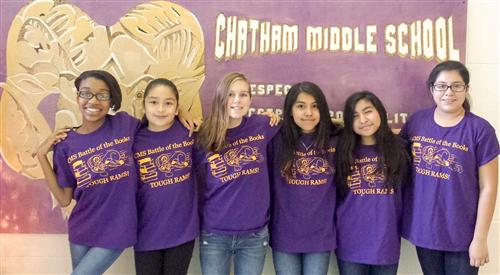 Chatham Middle fields first team in Battle of the Books