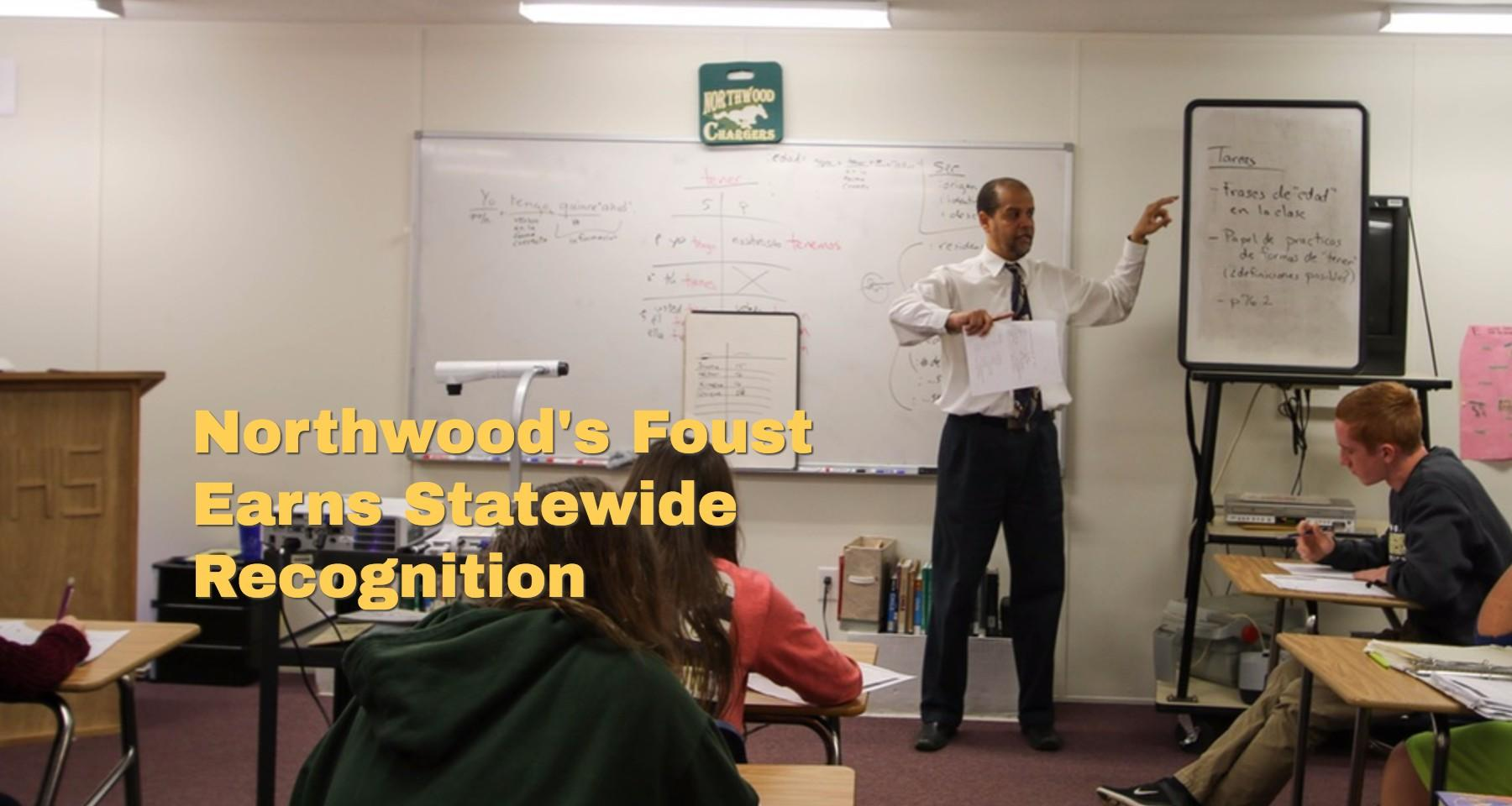 Northwood's Foust Recognized for Presentation